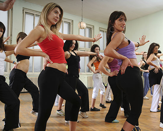 Where can I find Zumba classes in South Jersey?